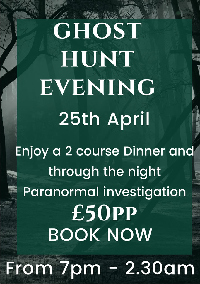 Ghost Hunt Evening Poster